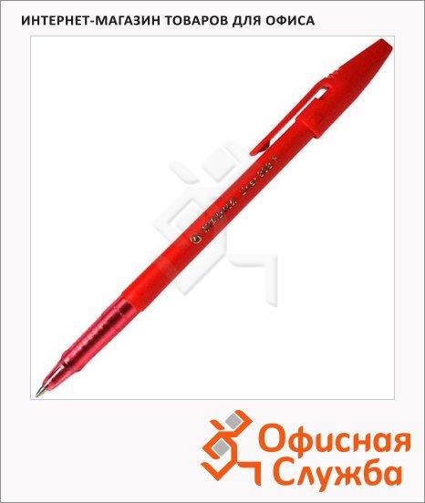 Ручка шариковая Stabilo Liner 808 красная, 0.3мм
