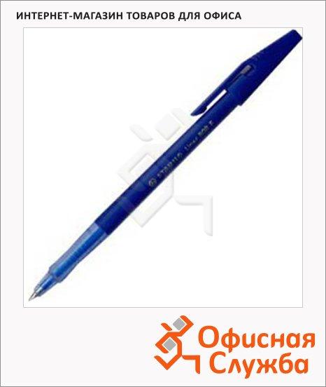 фото: Ручка шариковая Stabilo Liner 808 синяя 0.3мм
