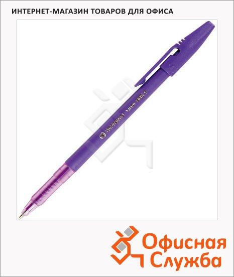 фото: Ручка шариковая Stabilo Liner 808 фиолетовая 0.3мм