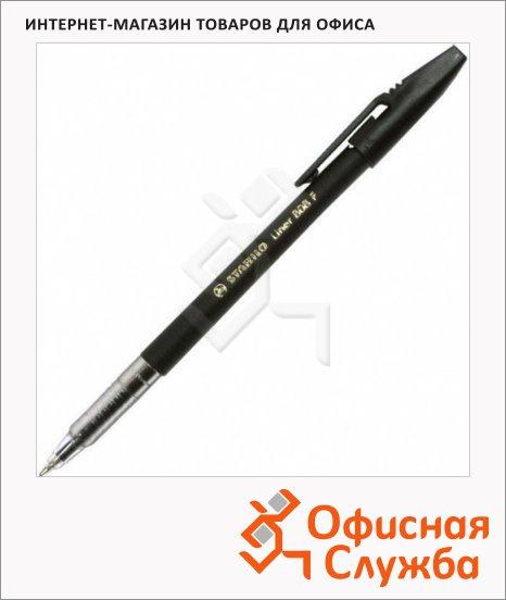 фото: Ручка шариковая Stabilo Liner 808 черная 0.3мм