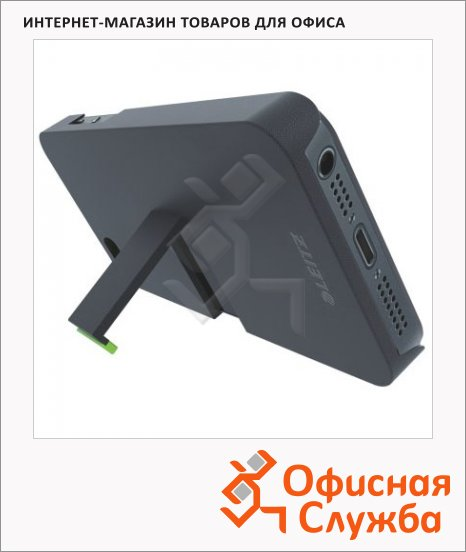 Защитная панель для Apple iPhone 5/5S Leitz Complete черная, пластиковый, 63700095