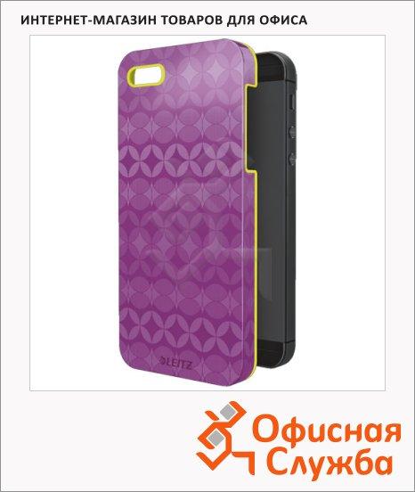 фото: Защитная панель для Apple iPhone 5/5S Retro Chic лиловая пластиковый, 63730065