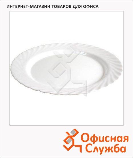 Блюдо Luminarc Trianon белое, d=31см