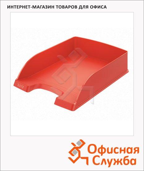 Лоток горизонтальный для бумаг Leitz Plus Standard A4, светло-красный, 52272020