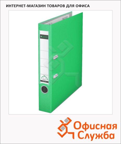 Папка-регистратор А4 Leitz зеленая, 50 мм, 10151250