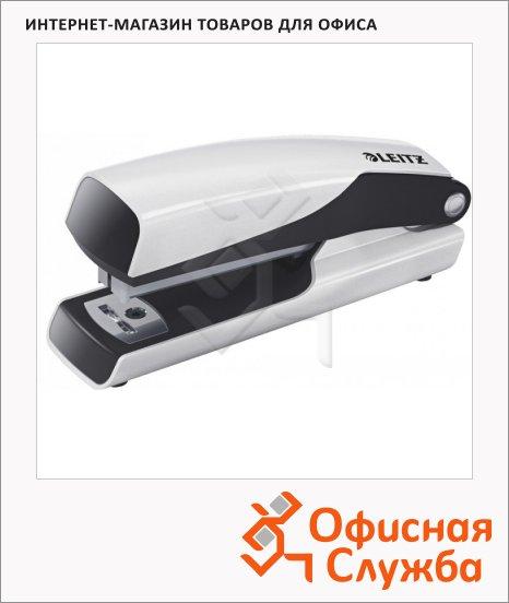 Степлер Leitz WOW NeXXt №10, до 10 листов, белый металлик