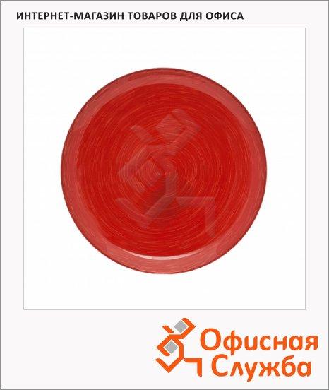 Тарелка десертная Luminarc Stonemania красная, d=20.5см