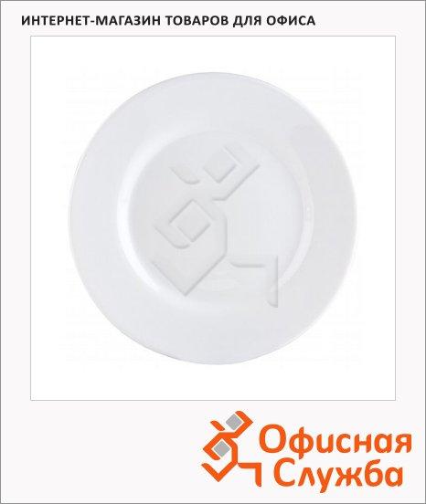 Тарелка десертная Luminarc Volare белая, 22см