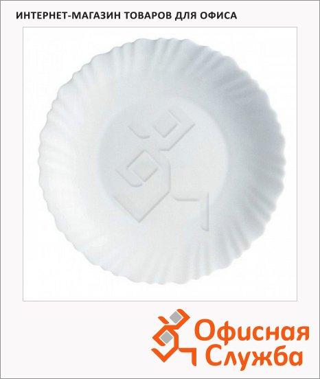 фото: Тарелка глубокая Luminarc Feston белая d=21см