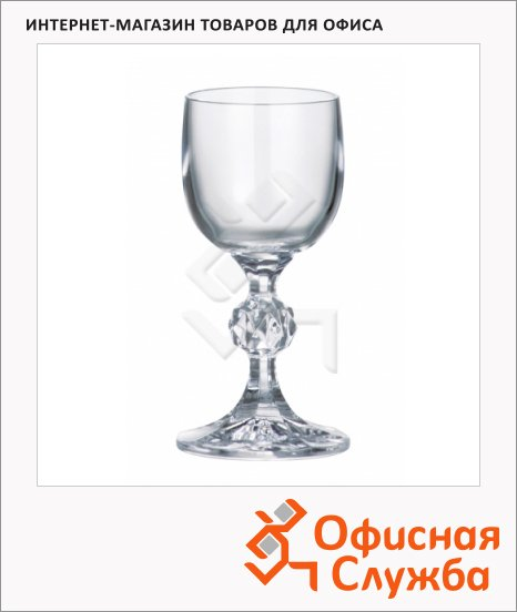 Рюмка для водки Bohemia Claudia 50мл, 6шт/уп