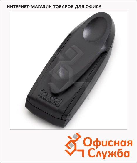 фото: Оснастка карманная прямоугольная Mobile Printy 47х18мм антрацит