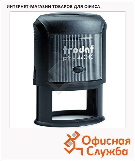 фото: Оснастка для овальной печати Trodat Printy 45х30мм черная, 44045