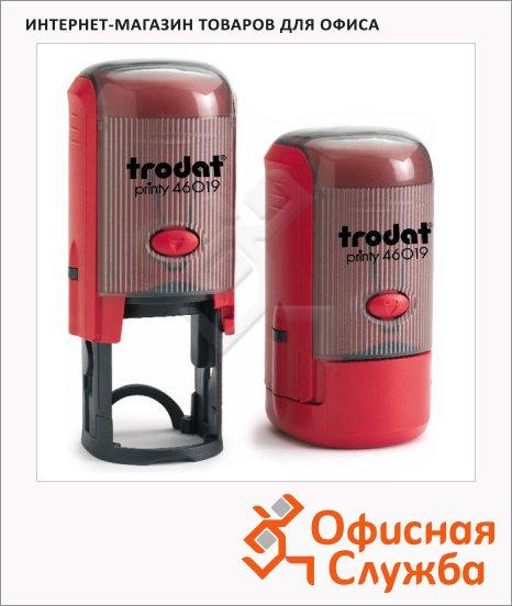 фото: Оснастка для круглой печати Trodat Printy d=19мм 46019, красная