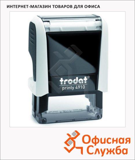 фото: Оснастка для прямоугольной печати Trodat Printy 26х9мм 4910, белая-черная