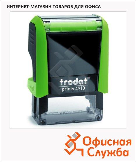 Оснастка для прямоугольной печати Trodat Printy 26х9мм, 4910, зеленое яблоко