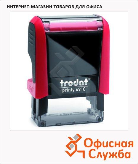 Оснастка для прямоугольной печати Trodat Printy 26х9мм, 4910, красная