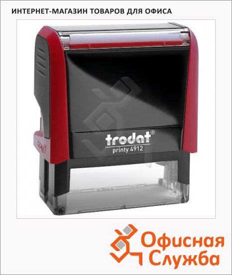 фото: Оснастка для прямоугольной печати Trodat Printy 47х18мм 4912, красная