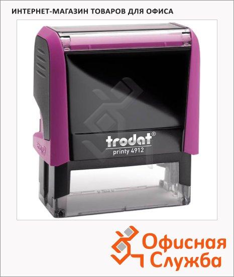 фото: Оснастка для прямоугольной печати Trodat Printy 47х18мм 4912, фуксия