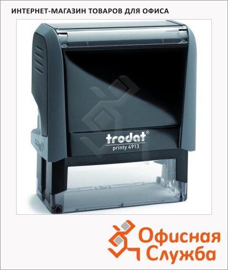 фото: Оснастка для прямоугольной печати Trodat Printy 58х22мм 4913, серая
