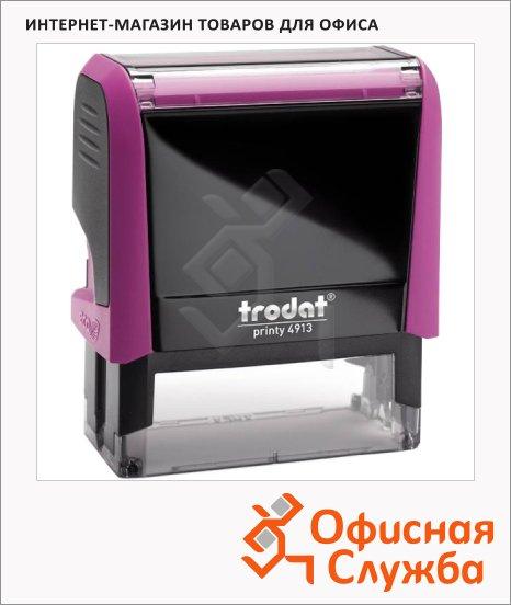 Оснастка для прямоугольной печати Trodat Printy 58х22мм, 4913, фуксия