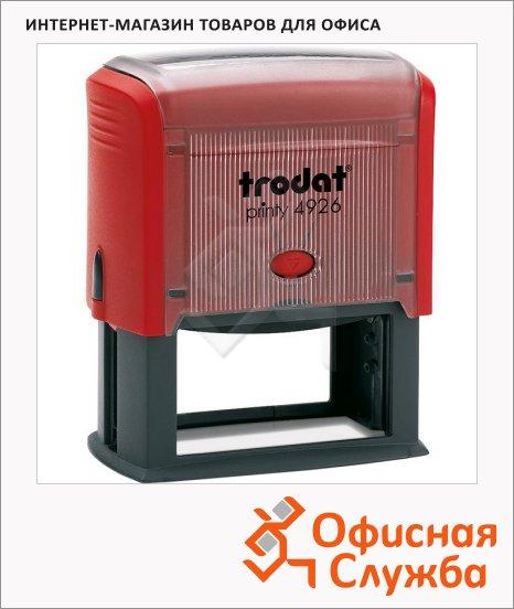 фото: Оснастка для прямоугольной печати Trodat Printy 75х38мм 4926, красная
