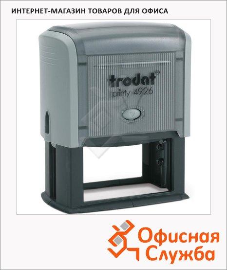 фото: Оснастка для прямоугольной печати Trodat Printy 75х38мм 4926, серая