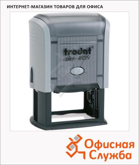 фото: Оснастка для прямоугольной печати Trodat Professional 50х30мм 4929, серая