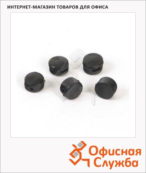 фото: Пломба пластиковая черная 10мм 1.5х5.5  1кг