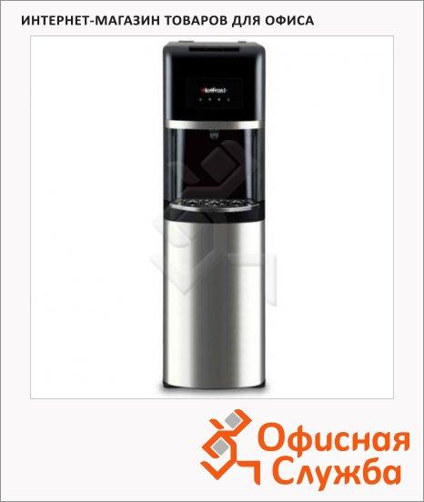 фото: Кулер для воды Hotfrost 35AN серебристо-черный напольный, 310х1040х340 мм