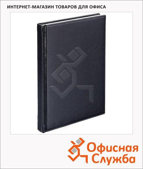 Телефонная книга Agenda А6, 48л, кожзам, черная