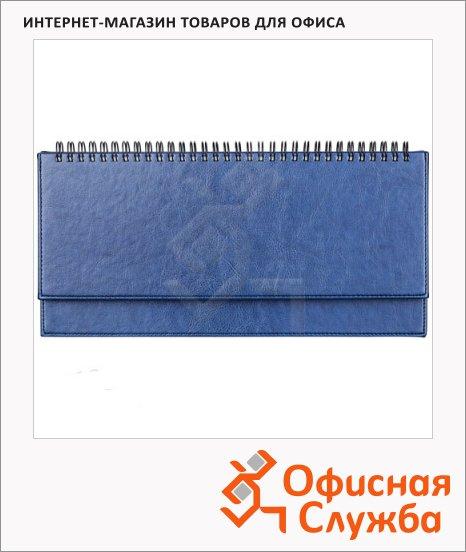 фото: Планинг недатированный синий 15х28.8см, 66 листов