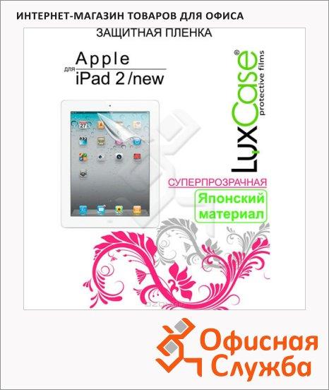 "Защитная пленка для iPad 2/new Luxcase 80206, суперпрозрачная антибликовая 9, 7"""