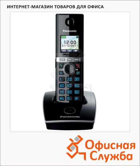 Радиотелефон Panasonic KX-TG8051RUB черный