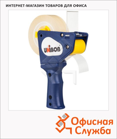 Диспенсер для клейкой ленты Unibob до 19мм, синий