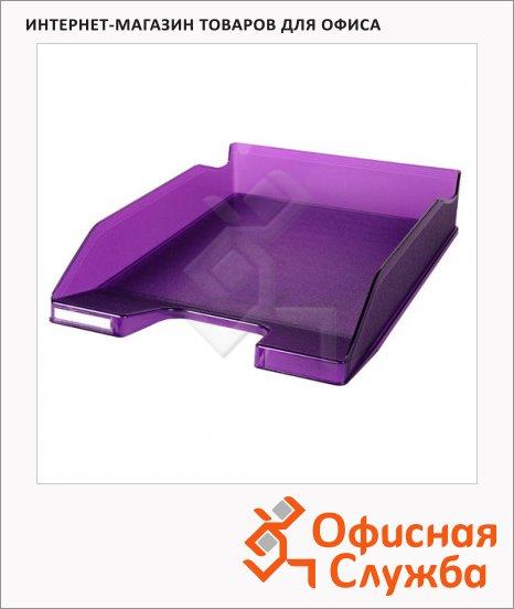 Лоток горизонтальный для бумаг Exacompta А4, фиолетовый