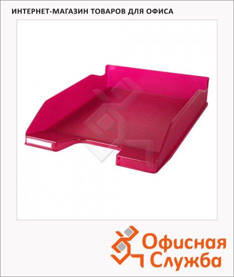 Лоток горизонтальный для бумаг Exacompta А4, красный