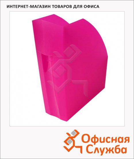 фото: Накопитель вертикальный для бумаг А4 розовый