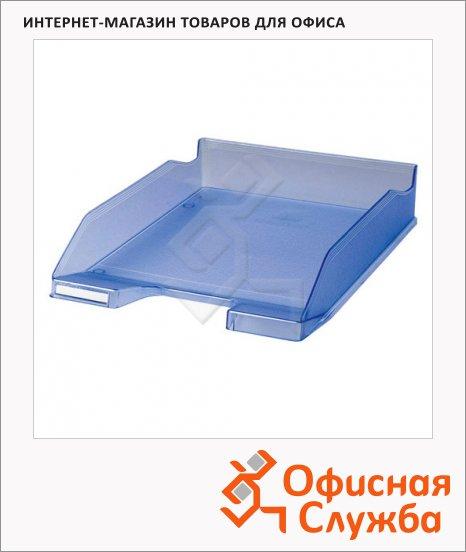 Лоток горизонтальный для бумаг Exacompta А4, голубой