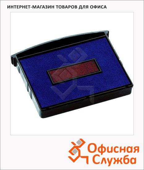 фото: Сменная подушка прямоугольная Colop для Colop 2460/2660/3660/S660 синяя-красная, E/2600/2