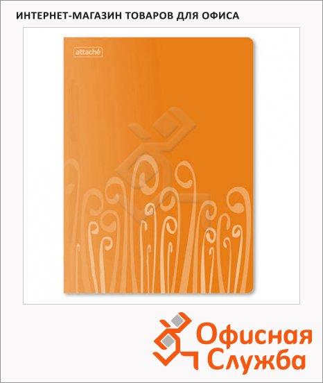 Скоросшиватель пружинный Attache Fantasy оранжевый, А4