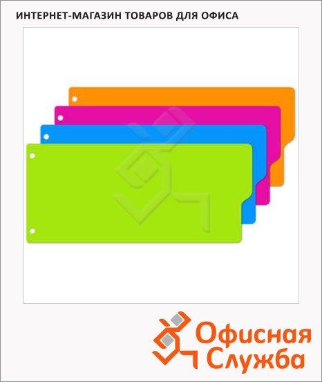 Разделитель для картотек Attache Selection 12 разделов, 10,5х24см, цифровой