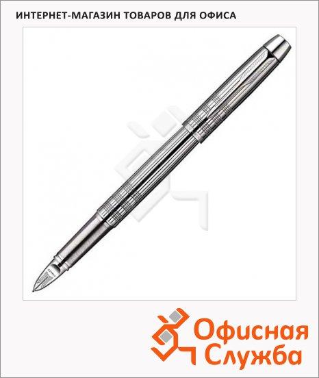 Ручка-5й пишущий узел Parker IM Premium F522 F, черная, хром корпус