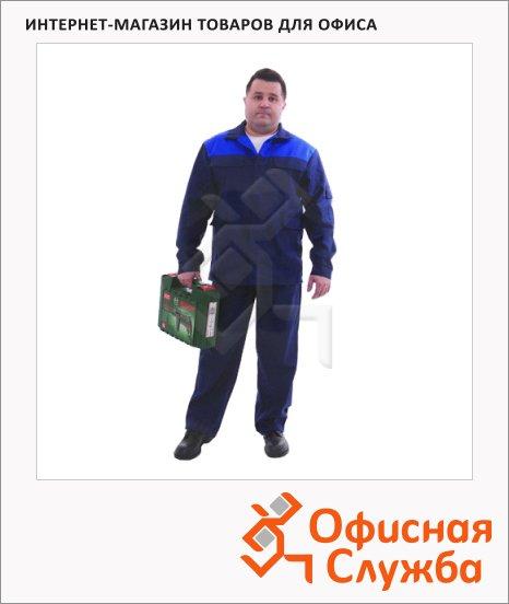 Костюм рабочий мужской Производственник (р.44-46) 170-176, сине-васильковый, брючный, с СОП