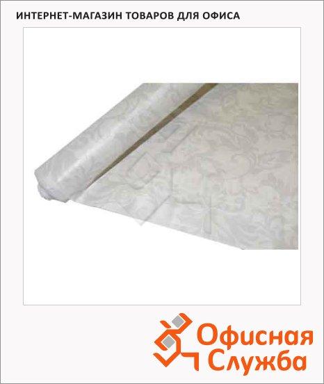 фото: Скатерть бумажная Vitto Prestige 120х700см с полимерным покрытием, белая