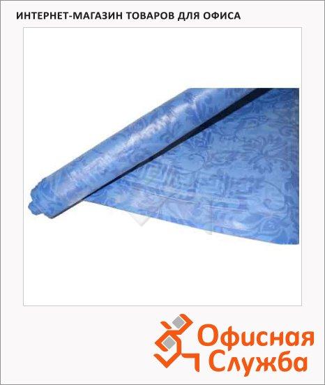 Скатерть бумажная Vitto Prestige 120х700см, с полимерным покрытием, синяя