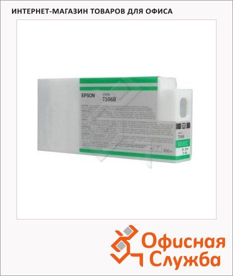 Картридж струйный Epson C13 T596B00, зеленый
