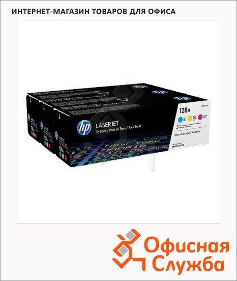 Тонер-картридж Hp CF371AM(C/M/Y), 3 цвета, 3шт/уп