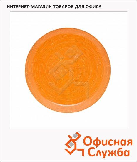 Тарелка десертная Luminarc Stonemania оранжевая, d=20.5см