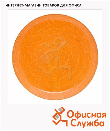 Тарелка обеденная Luminarc Stonemania оранжевая, d=25см