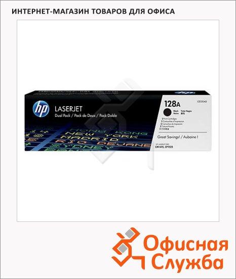 фото: Тонер-картридж Hp CE320AD черный, 2шт/уп